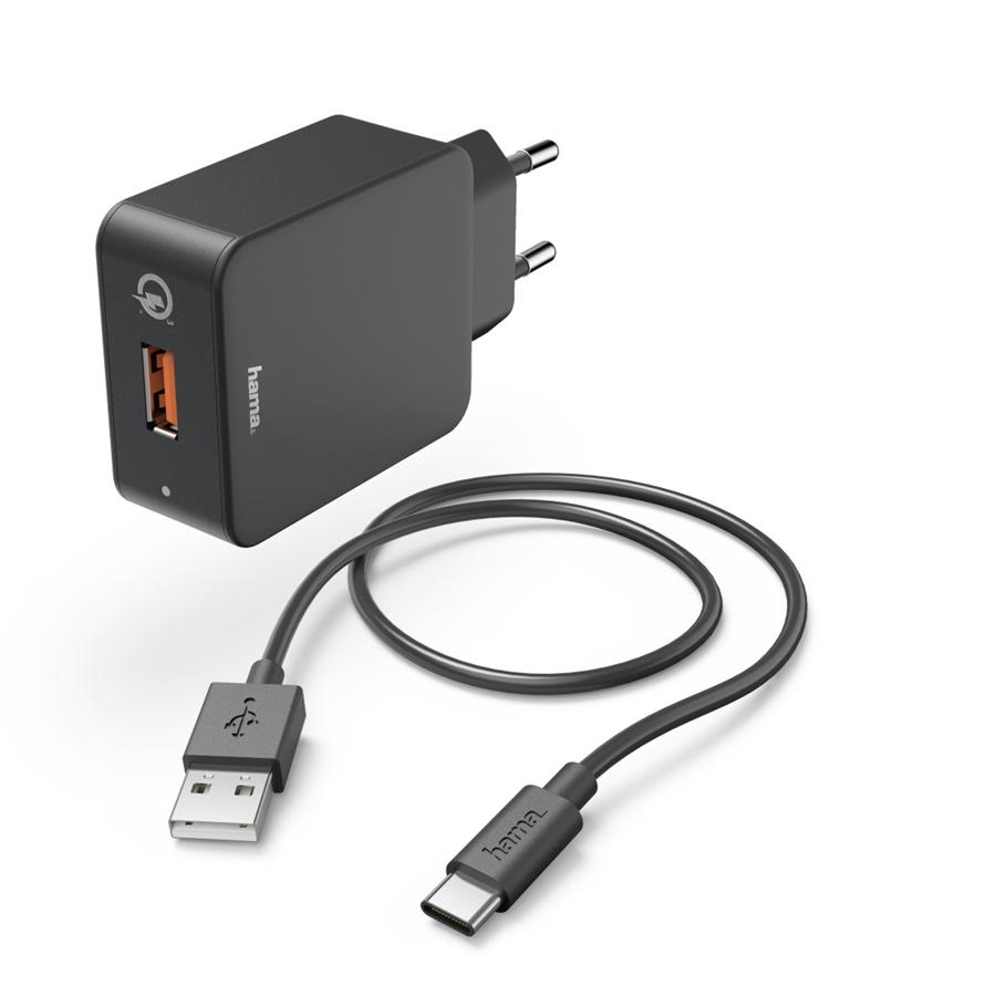 HAMA 183230 SET RYCHLA USB NABIJACKA QUICK CHARGE 3.0 19
