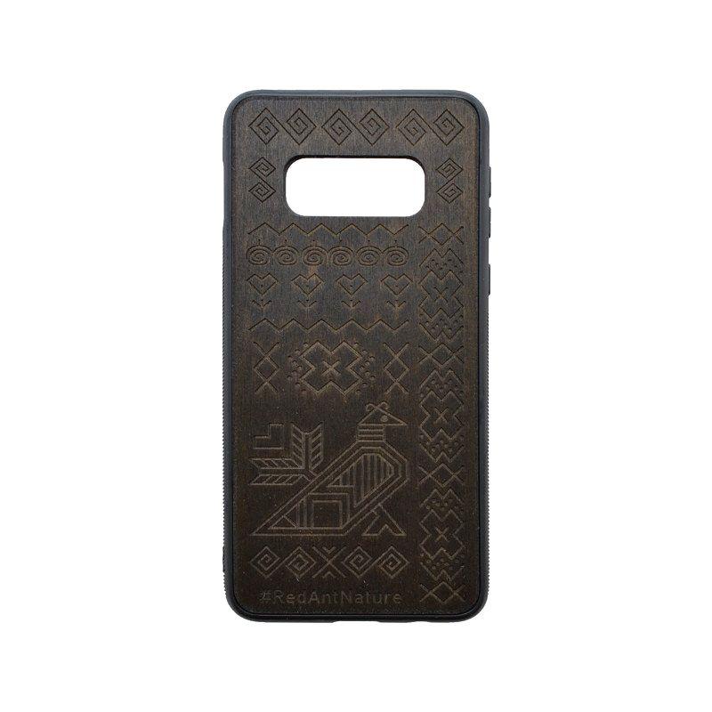 Puzdro Totem Samsung Galaxy S10e tmavohnedé